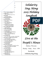 2015 SSA Holiday Songbook