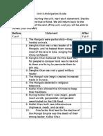 unit 4 anticipation guide