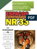 DEFINIÇÃO DE NR 33