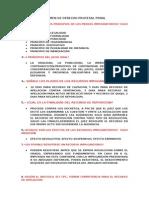 Examen de Derecho Procesal Penal