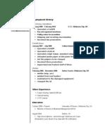 Jobswire.com Resume of jgragg12