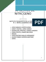 Compuestos de Nitrogeno de la quimica