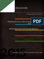 El presupuesto de la educacion y el desvio de recursos