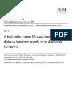 A High Performance 3d Exact Euclidean