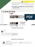 Inmueble Mercadolibre Com Mx MLM 488855539 Consultorio Denta