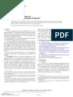 Punto de Fluidez - ASTM D97-11