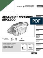 Manual Video Camara Canon MVX200i