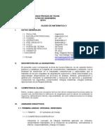 Silabo de Matematica II-2015-i (1)