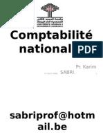 Comptabilité Nationale K.sabrI