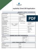 ACCTG AR002 12-15 - Direct Bill Application