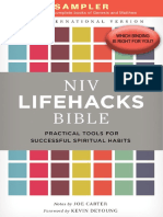 NIV Lifehacks Bible Sampler