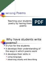 poem writing techniques