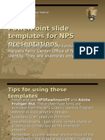 NPS PowerPoint Template