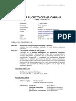 Cv Bach. Cesar Augusto Ccama Cabana