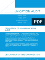 Communication Audit