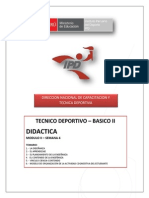 Lectura Técnico Deportivo - Módulo II - Semana 4-G03