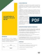 Alcantarilla Minimultiplate Mp-68 Circula Caracteristicas