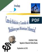 Curso de Medición de Hidrocarburos ERICSON M&M Septiembre 2011