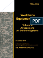 Worldwide Equipment Guide (WEG) Update 2011, Volume 2 - Airspace and Air Defense Systems