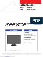 Manual de Servicio Monitor Samsung 943nwx