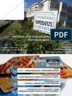 Emiterea Unui Card de Debit La Banca Raiffeisen Bank -PPT