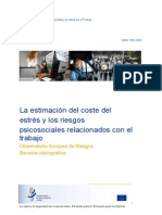 Calculating the Cost of Work Related Stress and Psychosocial Risks ES
