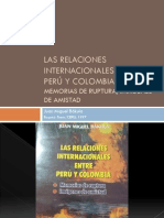 Las Relaciones Internacionales Entre Perú y Colombia-Bakula-elenco de Actos Intern