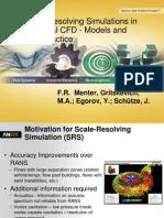 SRS Turbulence Models