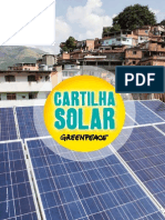 Cartilha Solar - Greenpece