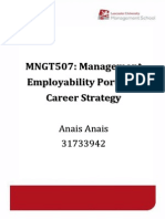 Anais 31733942 MNGT507 Career Strategy