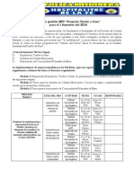 Plan de Gestion Ier Sem 2016