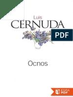 Ocnos - Luis Cernuda