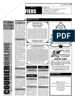 Claremont COURIER Classifieds 12-11-15