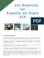 Novela Realista en España de Siglo XIX