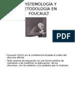 Epistemología y Metodología en Foucault