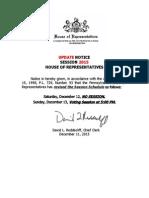 SessionNoticeUpdates RevisedTimeforSessionDayDecember12132015 UPDATE.docx