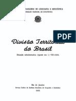 Divisão Territorial do Brasil - IBGE (1951)