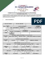 Ficha Escalafonaria Rcm 2015