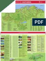 Mapa Turistico Cantabria