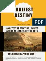 manifest desinty