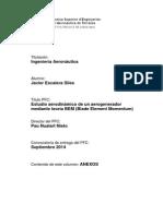 Estudio Aerodinamico de Un Generador Mediante El Bem