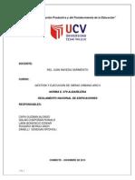 Informe Albañileria Grupo 06