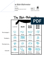 BBB Blahmeter