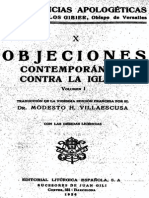 GIBIER-Conferencias Apologeticas Objeciones Contra La Iglesia I PARTE1