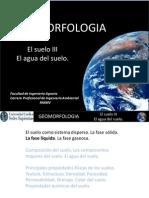 GEOMORFOLOGIA Aula 10 Humedad en El Suelo (1)