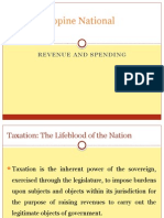 The Philippine National Budget