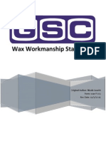 wax standard workmanship 12-9-15