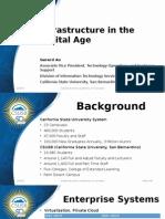 DELC Higher Ed 15 - Infrastructure - Gerard Au