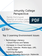 DELC Higher Ed 15 - Learning Environment - Randy Dominguez