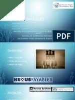 presentation nexus payables
